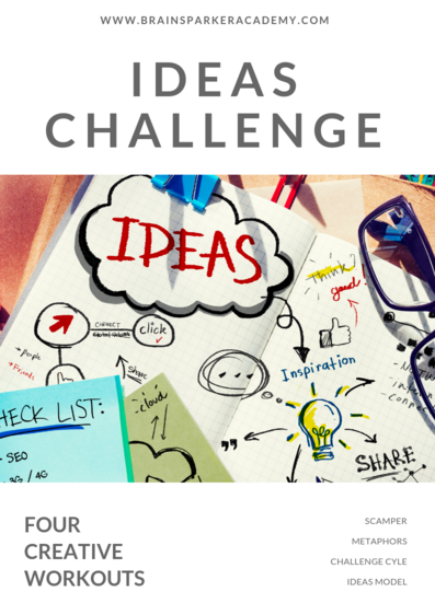 ideas challenge - boost creative thinking, innovation and creativity